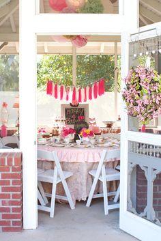 Classy Clutter: Garden Tea Party