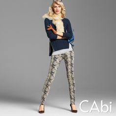 #CAbi – Animal prints and cozy sweaters for fall! Check out more fall fashion trends and outfit inspiration at CAbiOnline.com #cabiclothing #outfits
