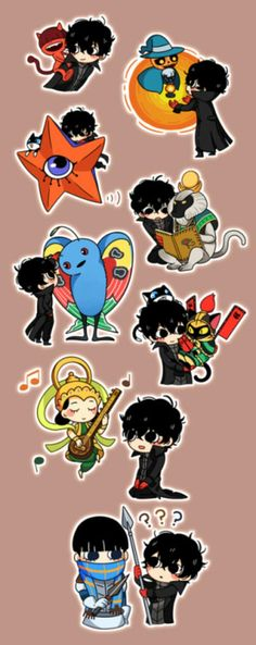 Persona 5 Anime, Persona 5 Joker, Persona 4, Akira Kurusu, Mystic Messenger, Video Game Art, Fire Emblem, Game Character, Cute Drawings