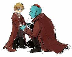Peter and Yondu