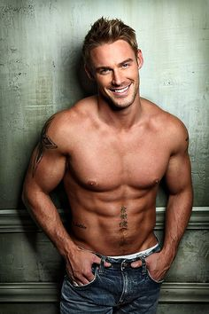 Jessie Pavelka - My No. 1 pick to play Christian Grey. (But I'm still researching...yes, researching!)