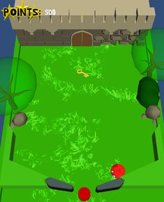 Momonga Pinball Adventures prototype called Pinball Forever. Levelmap overview 1 #Game  #Design #MomongaPinballAdventures #Prototype #Pinball