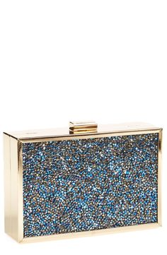 Loving how sparkly this metallic 'Stardust' clutch is!