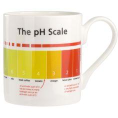 PH Scale Mug