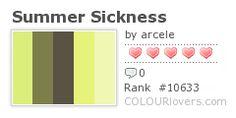 Some Summer Color Lovin' Inspiration ~ http://clrlv.rs/a1pkAj