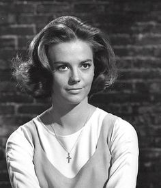 """Natalie Wood, hair test for """"West side story"""", 1961."""