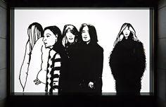 Madison Avenue Windows: Art Production Fund x Alex Katz x Barneys New York