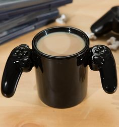 Are you looking for the coolest mug EVER? Game over, I think we have a winner! This awesome controller style mug is sure to put you ahead in the morning...must have for all #gaming fans! xoxo #mug #tea #gamer #gamers #playstation #ps3 #ps4 #console