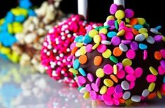 cake, colourful, food, lollipop, sprinkles