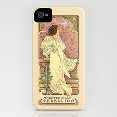 La Dauphine Aux Alderaan iPhone Case by Karen Hallion Illustrations - $35.00