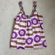 """Selling this """"Trina Turk Top"""" in my Poshmark closet! My username is: clothingqueen. #shopmycloset #poshmark #fashion #shopping #style #forsale #Trina Turk #Tops"""