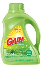 Gain Original Detergent... Only detergent that smells fresh and clean to me!!