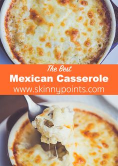 The Mexican Casserole Ever - Weight watchers smart points Friendly