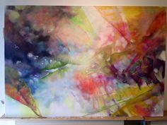 """@Alison Jardine Untitled 72""""x50"""" oil on canvas https://twitter.com/alisonjardine/status/402575253563387904/photo/1"""