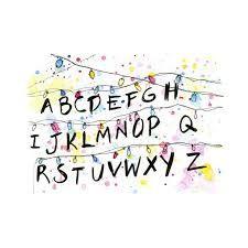 Výsledok vyhľadávania obrázkov pre dopyt stranger things alphabet