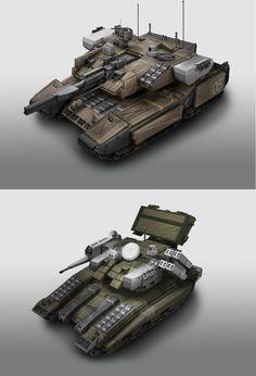 Tank V2 by StTheo on DeviantArt