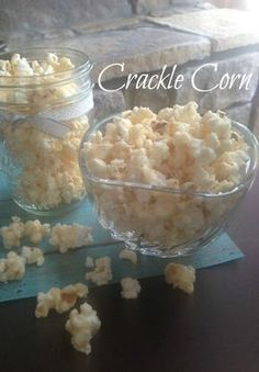 Wondering what makes this popcorn recipe extra special? A layer of vanilla-flavored sugar is drizzled overtop, then it's all baked, creating this unexpectedly crunchy Crackle Corn sweet treat recipe.