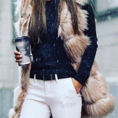 Obsessed with this vest! Obsessed  #fashion #style #trendy #gorgeous #liketoknowit #outfit #look #lookbook #furvest #trendy #stylish #instastyle #instafashion #instaoutfit #trendsetters #stylebloggers #winterstyle #fauxfur  #fauxfurvest #lookoftheday #falloutfits #fallfashion #whatiwore #momootd #ootd #fashionblogger