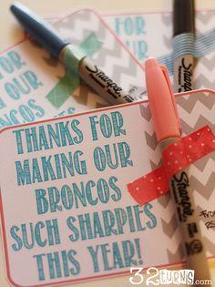FREE PRINTABLE Easy Teacher Appreciation Gift #freeprintable #teacherappreciation