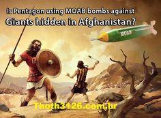 Disso Voce Sabia?: Os EUA estão usando bombas MOAB contra gigantes Ne...