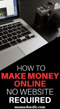 How to make money online no website required