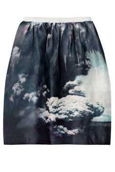 Ethereal cloud skirt make you WHOA! dream big.