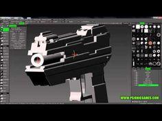 3DCoat - Pistol - Hard surface sculpt - Tutorial video - YouTube 3d Coat, Hard Surface Modeling, Sculpting, Zbrush, Tutorials, Youtube, Inspiration, Biblical Inspiration, Sculpture