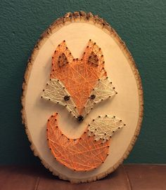 10 Gefällt mir, 1 Kommentar – Out of the Woods ( … - Diy Baby Deko Anchor String Art, Nail String Art, String Crafts, Fox Crafts, Diy And Crafts, Arts And Crafts, String Art Patterns, Creation Deco, Butterfly Crafts