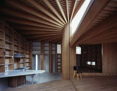 The Tree House, by Mount Fuji Architects Studio | diseño de interiores en casa