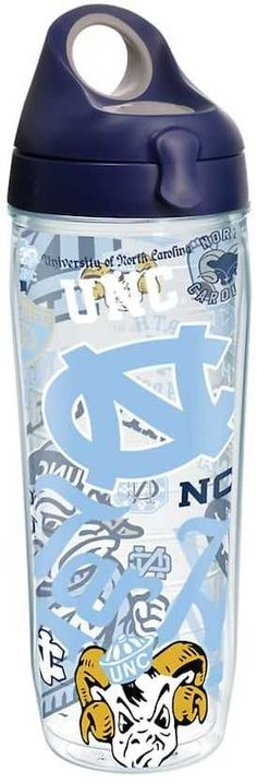 Tervis North Carolina Tar Heels 24-Ounce Water Bottle