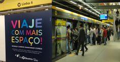 Metrô privatizado de São Paulo ganha tecnologia que informa vagões mais vazios