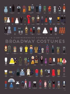 Broadway Costumes || Pop Chart Lab