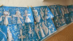 Tvoříme s dětmi ☺: Mikuláš, čert a anděl Valance Curtains, Advent, Tempera, Home Decor, Archive, Decoration Home, Room Decor, Home Interior Design, Valence Curtains