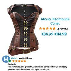 04a84ea5b56 Aliana-Steampunk-Corset. Corsets Queen