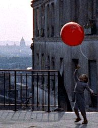 Red balloon was my favorite movie as a child.  I wanted the balloons to take me too.