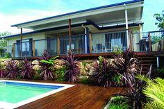 inground pool decking options