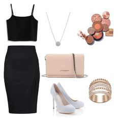 """""""soirée"""" by maelbr ❤ liked on Polyvore featuring Chicwish, Lipsy and Givenchy"""