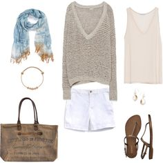 Beach Combing by bluehydrangea on Polyvore featuring Zara, Tommy Hilfiger, Old Navy, Alex and Ani, Sevil Designs and Nordstrom