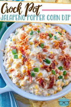 Best Dip Recipes, Corn Dip Recipes, Crockpot Recipes, Cooking Recipes, Favorite Recipes, Milk Recipes, Cooking Tips, Crock Pot Dips, Crock Pot Cooking