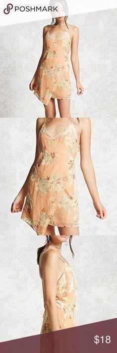 Forever 21 velvet floral mini dress size small! Forever 21 velvet floral mini dress size small!  Brand new never worn Forever 21 Dresses Mini