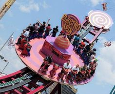 Hold on tight! (Electro Spin, Luna Park, Coney Island)