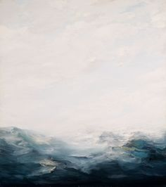 """Ray Turner """"Sea"""", x oil on canvas, 2008 Landscape Art, Landscape Paintings, Painting Inspiration, Art Inspo, Seascape Paintings, Contemporary Paintings, Oil On Canvas, Giclee Print, Cool Art"""