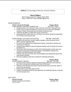 resume work experience format httpexampleresumecvorgresume work
