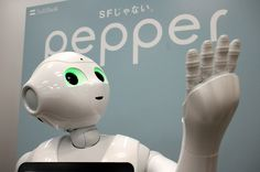 SoftBank warns against sex with its android Pepper - JapanTimes.co.jp - September 26th, 2015 SoftBank Corp. uses its chatty android Pepper to greet customers at its stores, and also sells them for private use. | SATOKO KAWASAKI