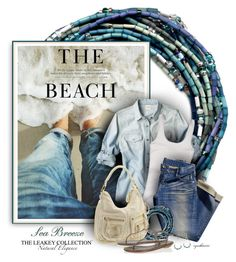 Sea Breeze by cynthia335 on Polyvore featuring polyvore fashion style Hollister Co. René Caovilla Uniqlo Linea Pelle H&M clothing denim beach theleakeycollection