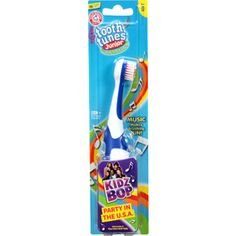 "Arm & Hammer Tooth Tunes Junior Kidz Bop ""Party in the U.S.A"" Soft Toothbrush"