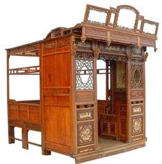 Raise the Red Lantern bed