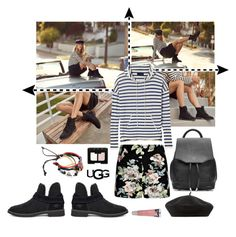 """The New Classics With UGG: Contest Entry"" by krahmmm ❤ liked on Polyvore featuring UGG, Boohoo, Accessorize, rag & bone, Burt's Bees, NARS Cosmetics and ugg"