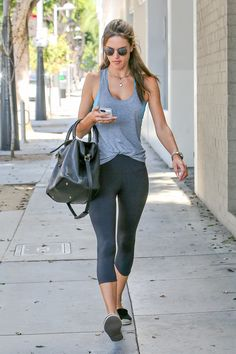Alessandra Ambrosio walks in Los Angeles on Sept. 15, 2014. Getty Images -Cosmopolitan.com