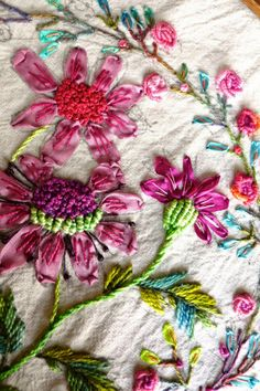 pussman & co: Still in love with embroidery,